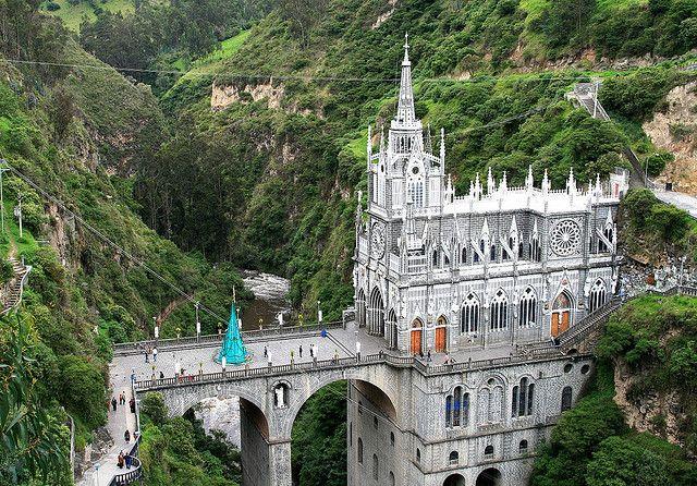 The Santuario de las Lajas