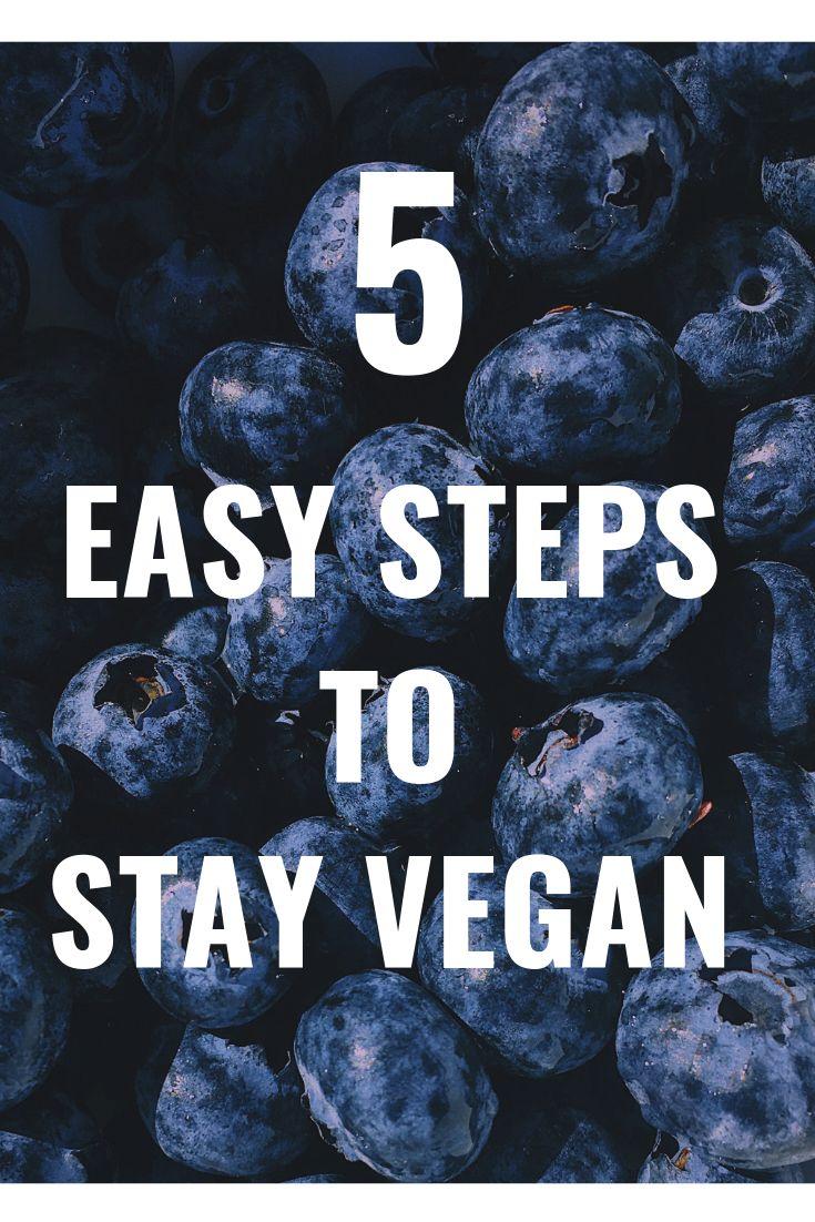 5 Easy Steps to go VEGAN Fast!