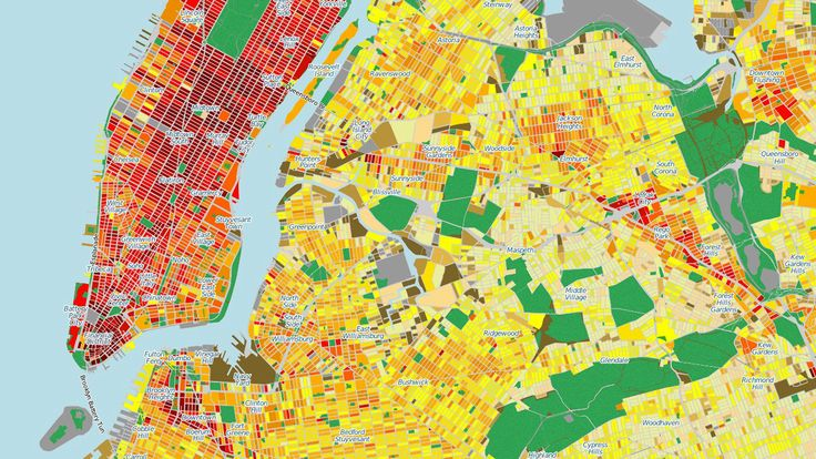 Energy consumption in every single nyc building