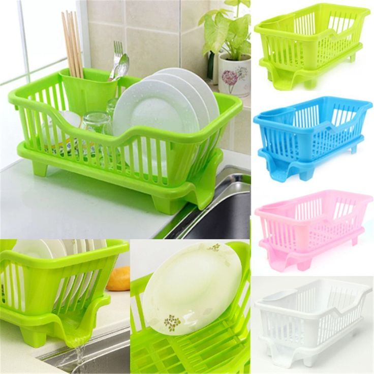 Hotsale Home Kitchen Dish Drainer Rack Drying Tray Sink Holder Basket  Organizer