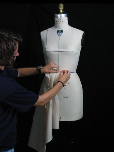 Fitting draping human form tutorials from cornell university