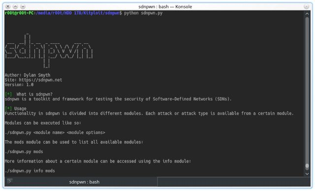 sdnpwn - An SDN Penetration Testing Toolkit