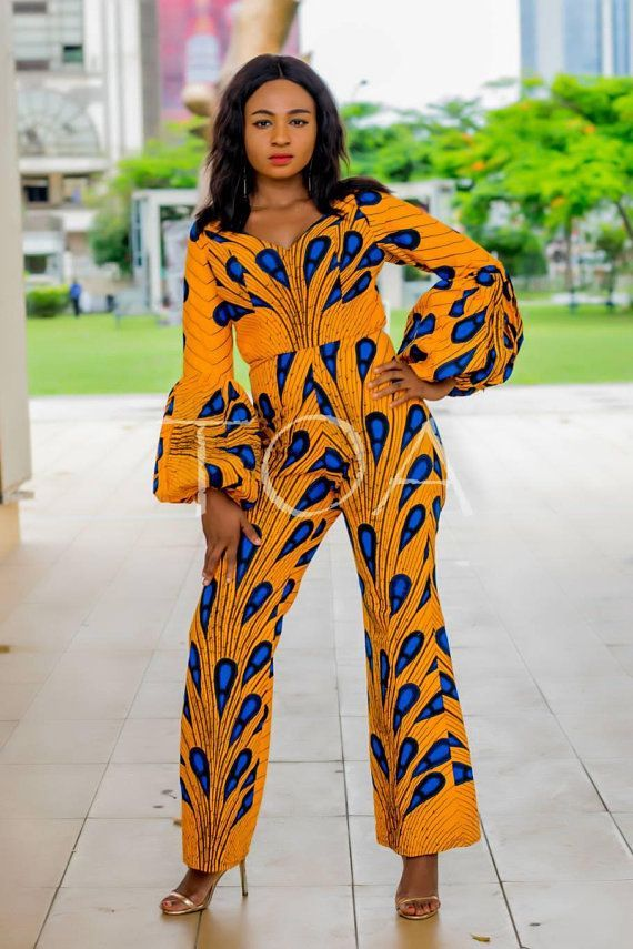 2b6e17b5813 Stylish Ankara Jumpsuits The Rabat African Print Jumpsuits   africanfashionjumpsuit
