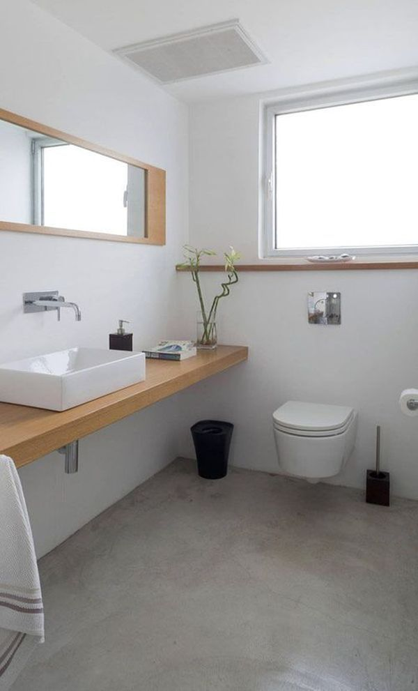 an in depth guide to polished concrete floors simple bathroom designsbathroom ideasbathroom