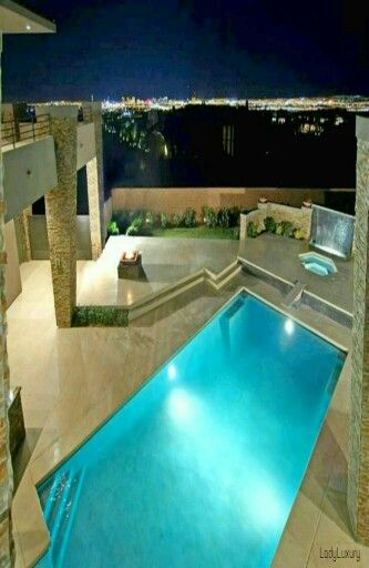 Find This Pin And More On Swimming Pool Lighting By Desertpoolsands.