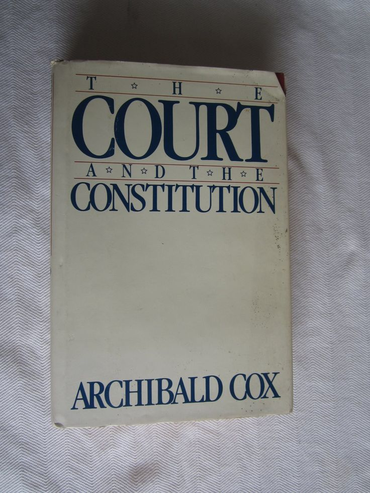 20 best law government books wenzel thrifty nickel ecrater store the court and the constitution by archibald cox 1987 for sale at fandeluxe Image collections