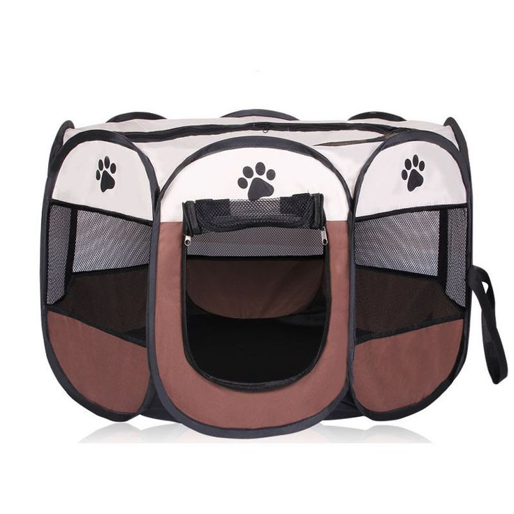 HOT Portable Folding Pet tent Dog House Cage Dog Cat Tent Playpen Puppy Kennel Easy Operation Octagonal Fence outdoor supplies //Price: $34.95 & FREE Shipping //     #hashtag3