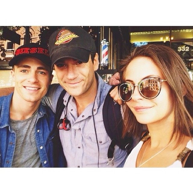 Colton Haynes, Colin Donnell, and Willa Holland