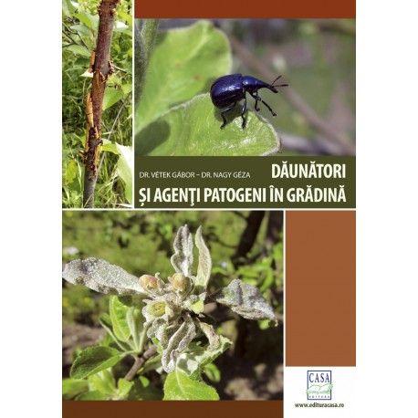 ,,Dăunători şi agenţi patogeni în grădină'' este ghidul care te ajută să identifici corect organismele dăunătoare din grădina ta, oferind sfaturi avizate în ceea ce priveşte prevenirea şi combaterea acestora. În cartea de faţă cititorii sunt instruiţi, pas cu pas, în ce constă protecţia plantelor cultivate în grădină, cum se utilizează pesticidele, în ce mod se aplică tratamentul adecvat fiecărei specii în parte. #grădină #cărțigrădinărit #EdituraCasa
