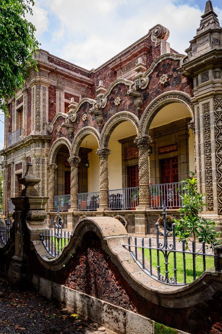 Casa Zuno at the University of Guadalajara in Guadalajara, Jalisco, Mexico.