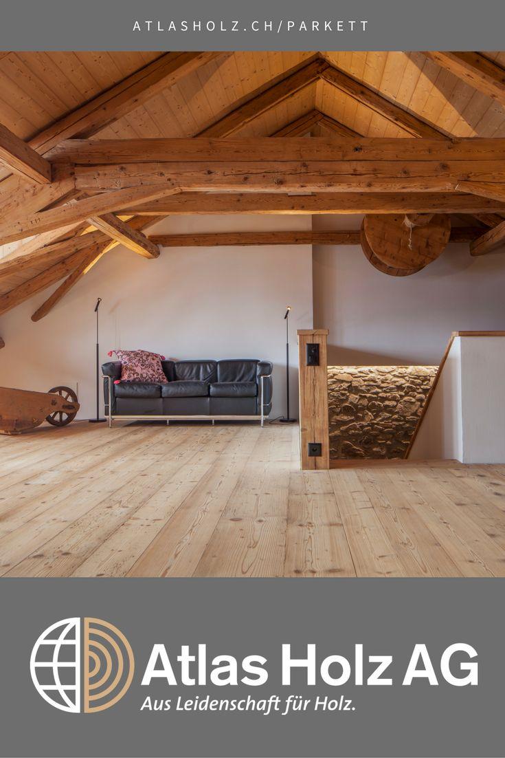 Fürstliche Maxi-Dielen Fichte/Tanne Altholz, Farbton 004, gebürstet, 2 bis 5 m lang, 15 bis 33 cm breit