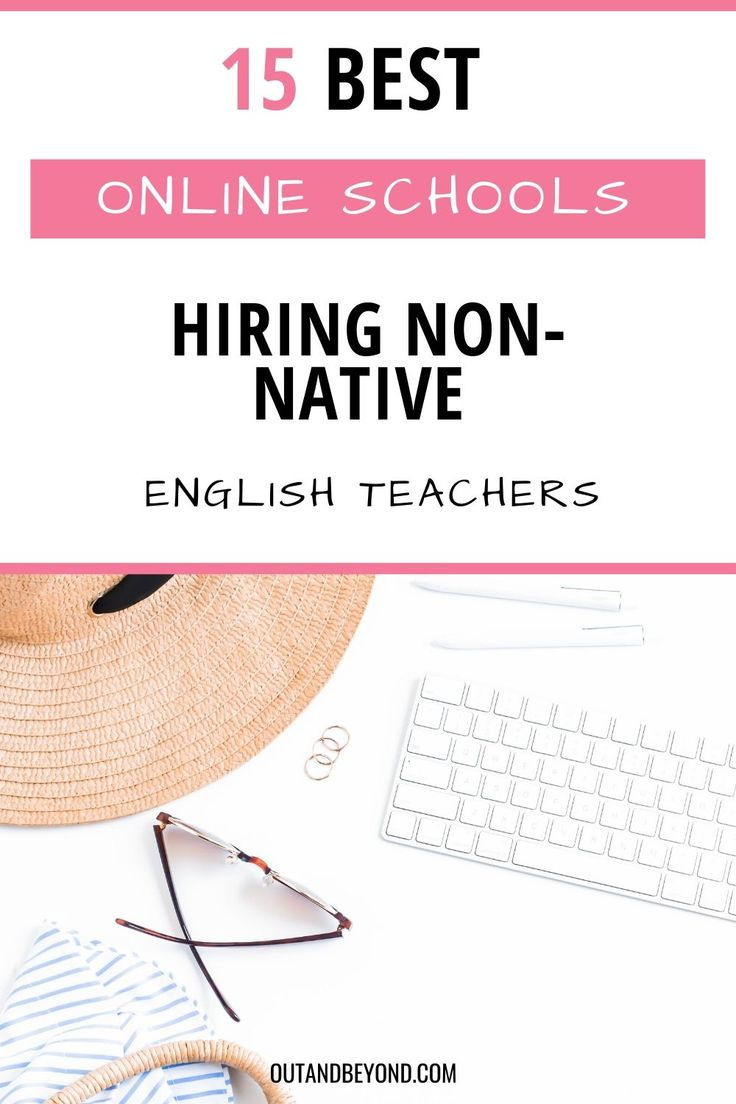 Do you want to teach online or work for an online school