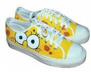 spongebob shoes paint