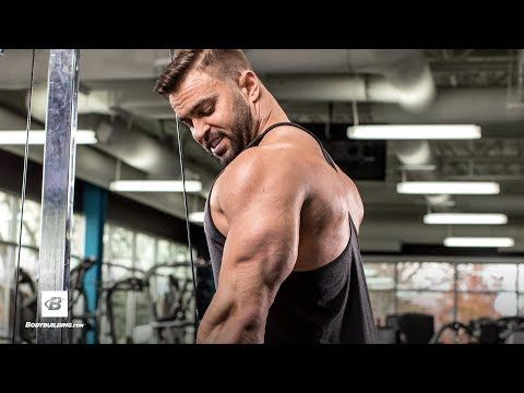 Time Under Tension for Bigger Triceps | IFBB Pro Jason Poston