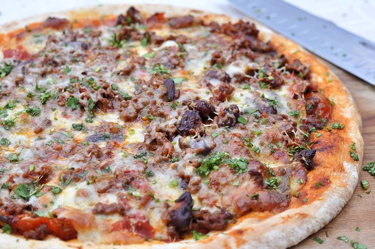 We couldn't think of one good reason why this wouldn't be amazing. All the flavour from the Gran Luchito chilli take this meat-feast pizza to another level.