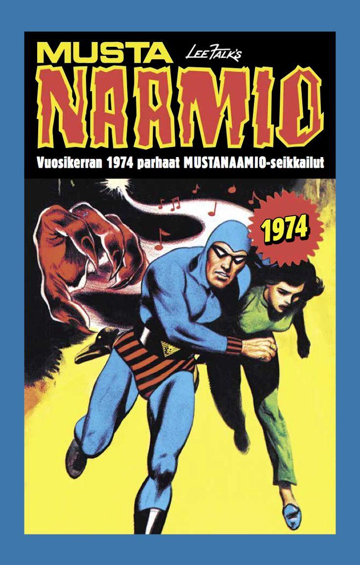 Vuoden 1974 Mustanaamio-seikkailuista mainioimmat kovien kansien väliin koottuna kirjakaupoissa 31. toukokuuta! #sarjisparhaus #Mustanaamio #seikkailuviihde #klassikko