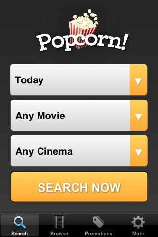 Popcorn Search Interface