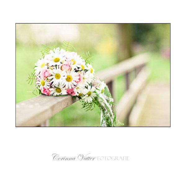 Margeriten und Rosen | Wedding bouquet pink white