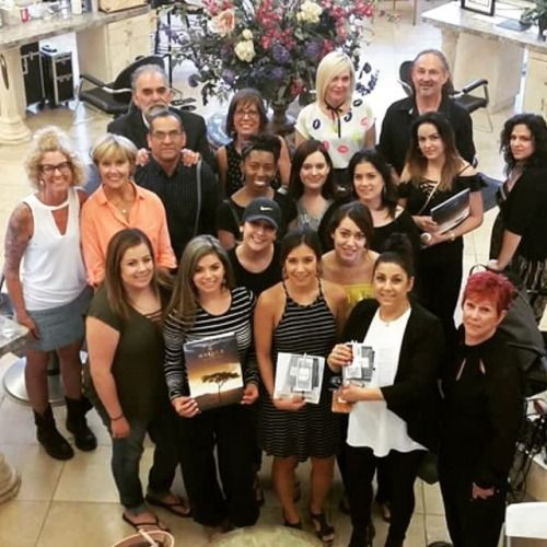 Education with a great group of Colourists....   Education with a great group of Colourists. #girlsnightout #stockton #patricialynnhair #patricialynnlaas #patricialynnlaashairco #educator #beverlyhills #haircolourist #haircoloureducation #hairproductknowledgeclass #hair #passion #eslabondexx #eslabondexxclass (at Stockton California)  via Tumblr http://ift.tt/2xIq1wt