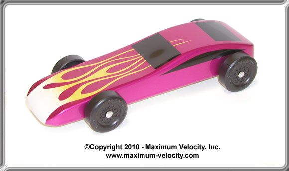 Standard Sports Car Pinewood Derby Car Design
