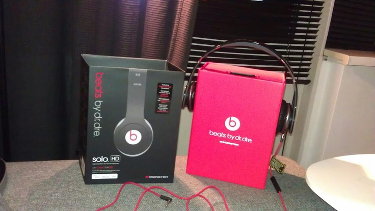 Beats by dre solo HD gekregen van m'n vriendje voor m'n verjaardag :)