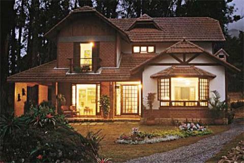 Inspirado no estilo normando, este chalé de 240 m², na região serrana do R...