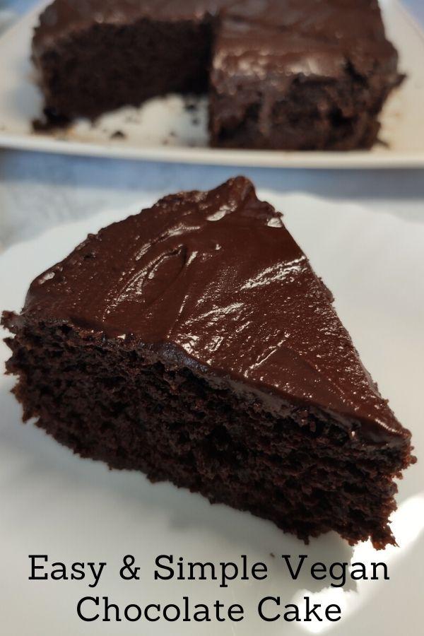 Easy Vegan Chocolate Cake Simple Vegan Chocolate Cake Recipe Vegan Chocolate Cake Easy Vegan Chocolate Cake Vegan Chocolate Cake Recipe