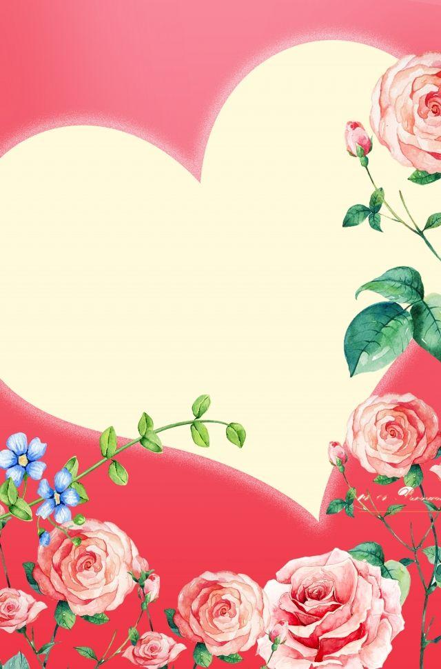 ورود حمراء رومانسية خلفيات Love Backgrounds Flowers Rose