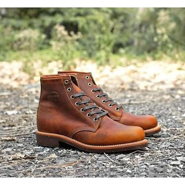 "CHIPPEWA BOOTS #1901M26 6"" TAN RENEGADE SERVICE BOOT"