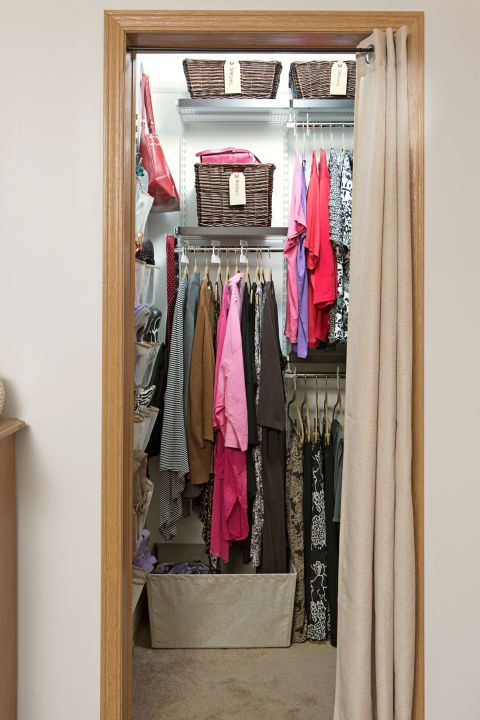 24 Ways To Declutter Your Closet. Closet OrganizationOrganization  IdeasStorage IdeasOrganizingContainer StoreThe ...