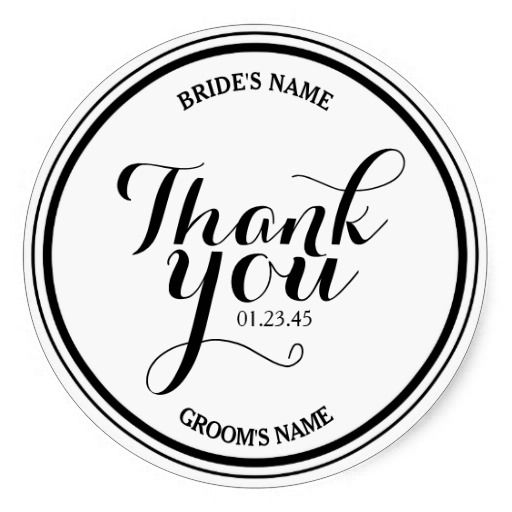 389 best thank you stickers images on pinterest