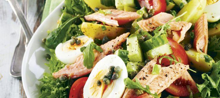 Savukalasalaatti ja yrttikastike | Pääruoat | Reseptit – K-Ruoka