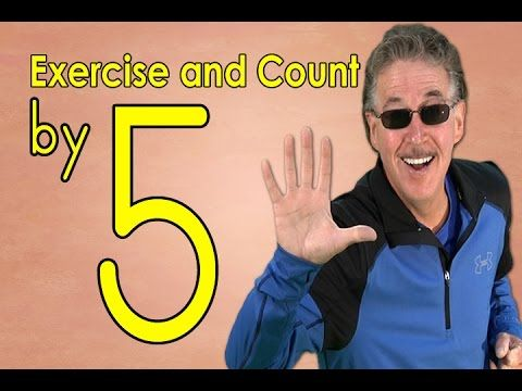 ▶ Count by 5 | Exercise and Count By 5 | Count to 100 | Counting Songs | Jack Hartmann - YouTube