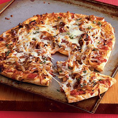 How about this recipe tonight from my #cookbook with @Cooking_Light ?  I'm making mine #gf with @cup4cup Pizza Flour.  Yum.