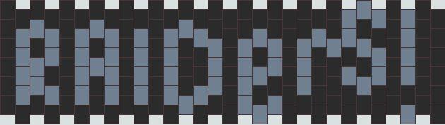 nfl raiders pattern bead pattern