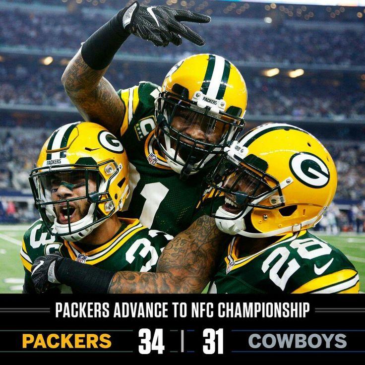 NFC Championship - Go Pack Go