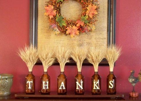 Resultado de imagen de centros de mesa dia de accion de gracias