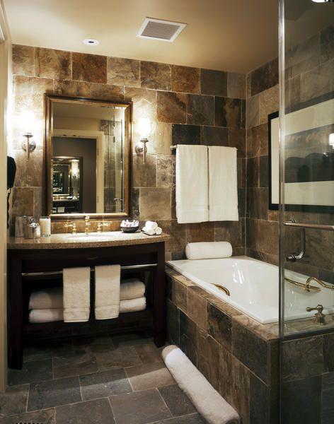 The St. Julien Spa in Boulder, Colorado Towel bar placement
