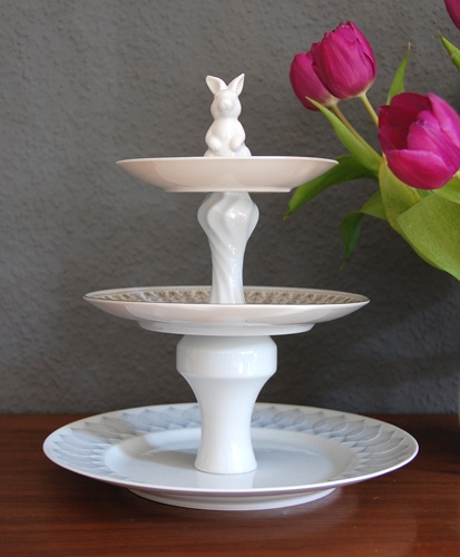 etagere  nice for Easter Want to make it to