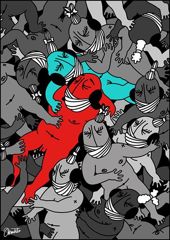 Illustration by Machito #fun #life #cool #pinterest #ar #love #cute #instalike #beauty #teen #machito #santiago #chile