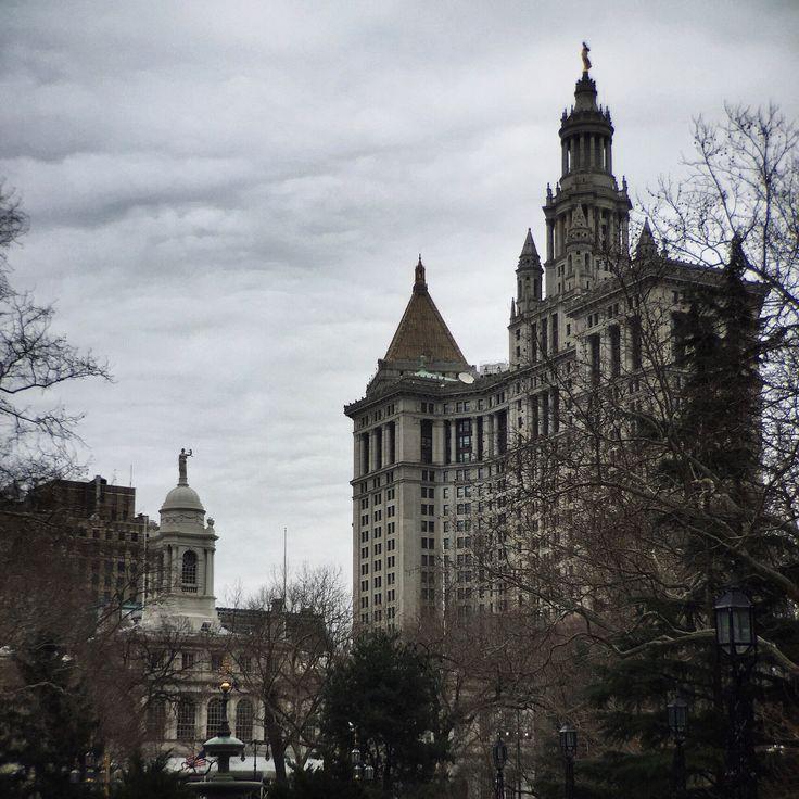 City Weather: Cloudy 39°F I 4°C #nyc