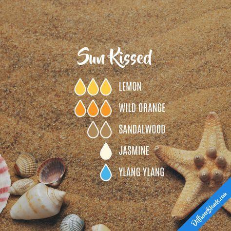 Sun Kissed - Essential Oil Diffuser Blend