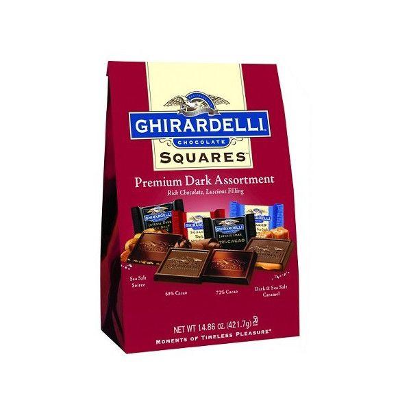 Ghirardelly ギラデリチョコレートアメリカ土産 プレミアダークチョコ詰め合わせ422g