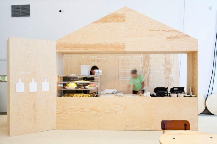 design bar at stockholm fair.