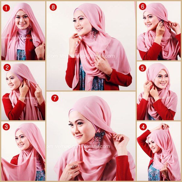 hijab tutorial - Google Search