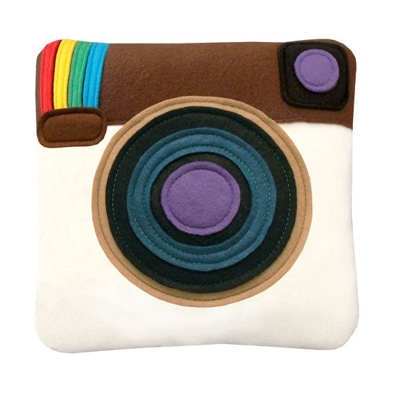 A couch pillow for the Instagram obsessed.    http://blog.gremln.com/2013/11/28/social-media-gifts-for-everyone-on-your-holiday-shopping-list/
