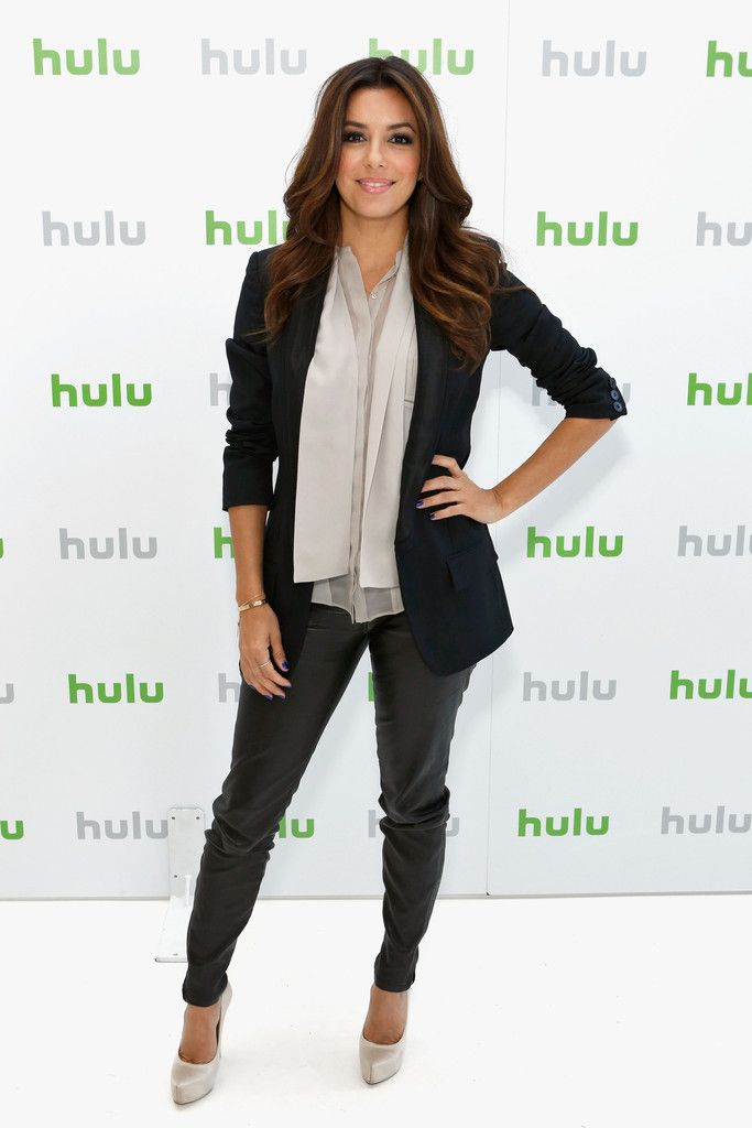 Eva Longoria - Celebs at the Hulu Upfront Event in NYC