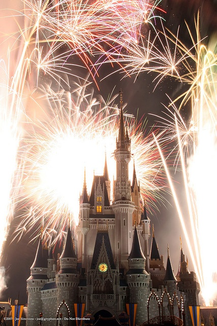 First time visitors should be prepared to be awed by the incredible fireworks in the theme parks.   Check the daily schedule for times, and don't miss the shows!