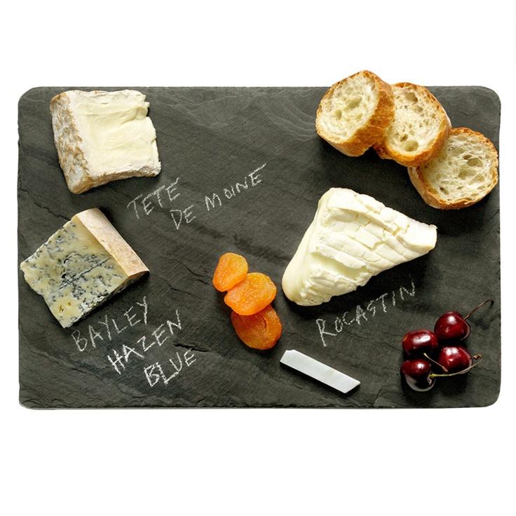 Cheese Board Black Slate M