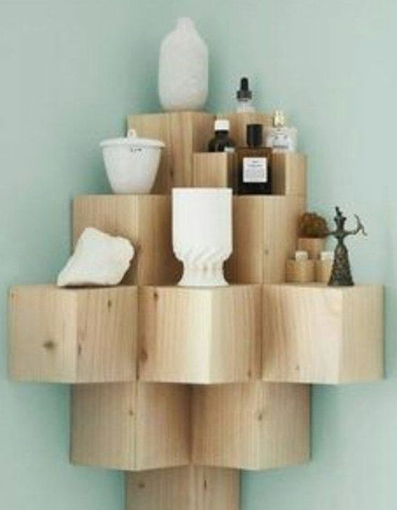 3D Cube Shelf by ModernElementsHome on Etsy